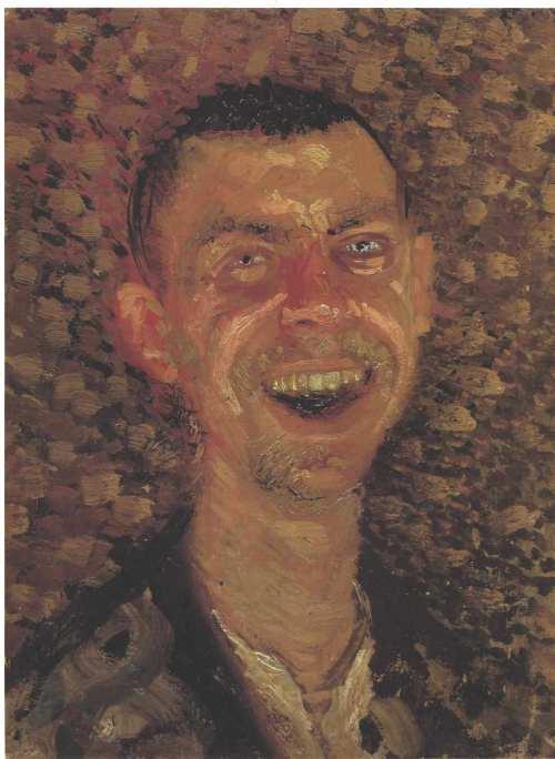 self-portrait-laughing-1908