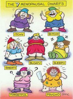 menopausal dwarfs
